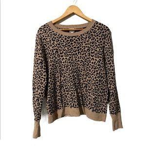COPY - A New Day Leopard Print knit Sweater size …